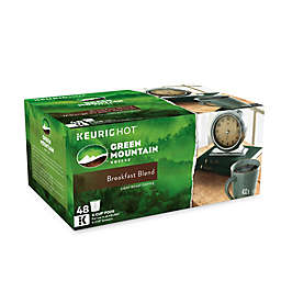 Keurig® K-Cup® Pack 48-Count Green Mountain Coffee® Breakfast Blend Coffee