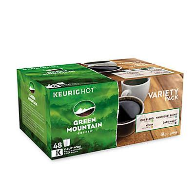 Keurig® K-Cup® Pack 48-Count Green Mountain Coffee® Multi Roast Variety Pack