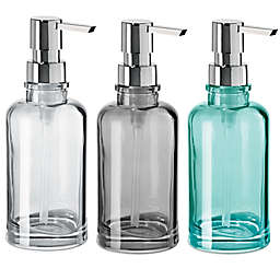 OGGI® Round Glass 12 oz. Soap Dispenser