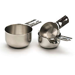 RSVP Endurance® Stainless Steel Nesting Measuring Cups (Set of 4)