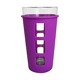 EcoVessel® THE VIBE™ 16 oz. Pint Glass with Protective Silicone Sleeve