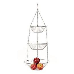 RSVP 3-Tier Chrome Basket