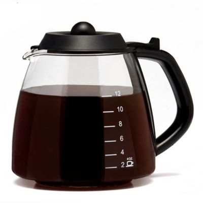 Medelco Universal 12 Cup Replacement Coffee Glass Carafe