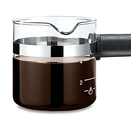 Medelco® Universal Espresso 4-Cup Glass Carafe Replacement