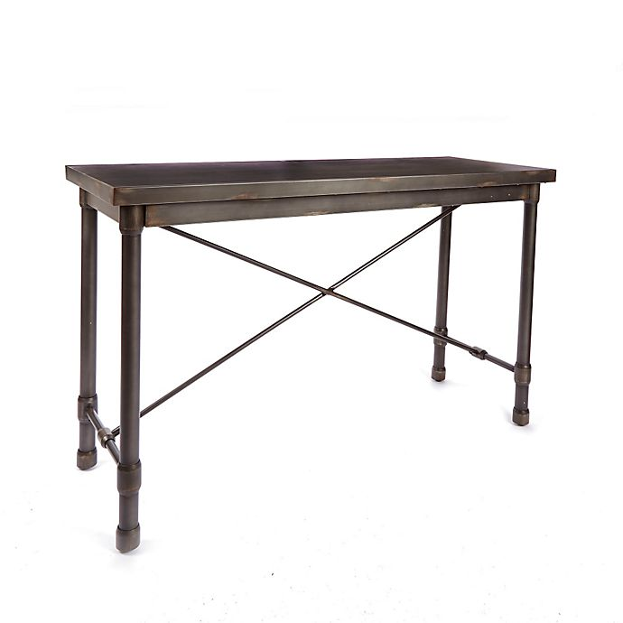 Alternate image 1 for Silverwod Oxford Industrial Collection Console Table