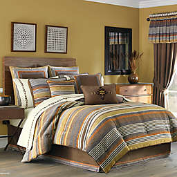 J. Queen New York™ Montaneros Comforter Set in Rust