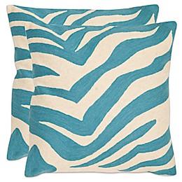 Safavieh Urban Spice 18-Inch Square Throw Pillows (Set of 2)