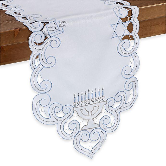 Alternate image 1 for Hanukkah Sparkle Table Runner