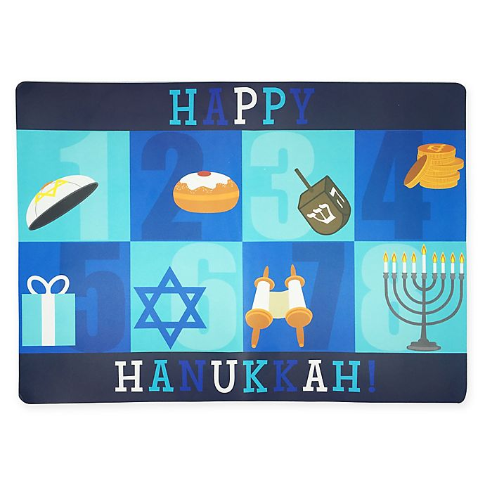 Alternate image 1 for Happy Hanukkah Blocks 13\