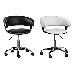 Acquisition Faux Leather Gas Lift Desk Chair