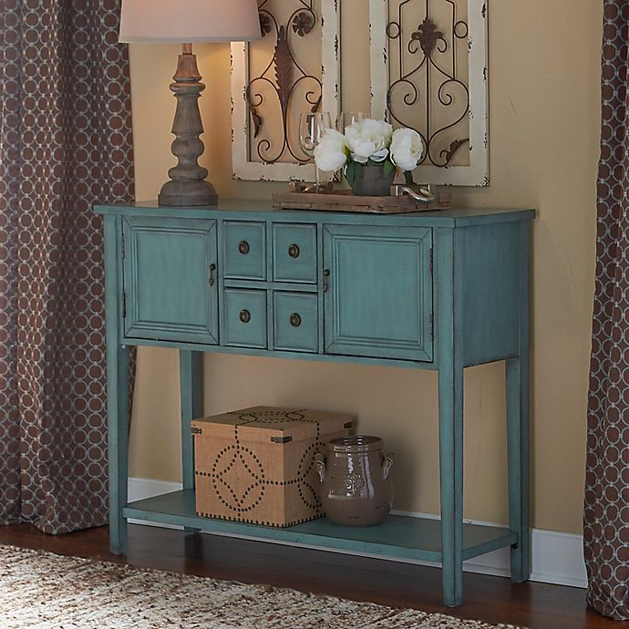 Alternate image 1 for Duplin Console Table in Blue