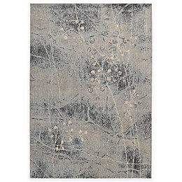 Nourison Somerset ST74 Rug in Silver and Blue