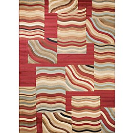 Concord Global Soho Waves Multicolor Area Rug