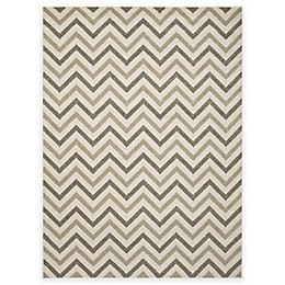 New Casa Chevron Rug in Ivory