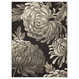 New Casa Flowers Rug in Brown