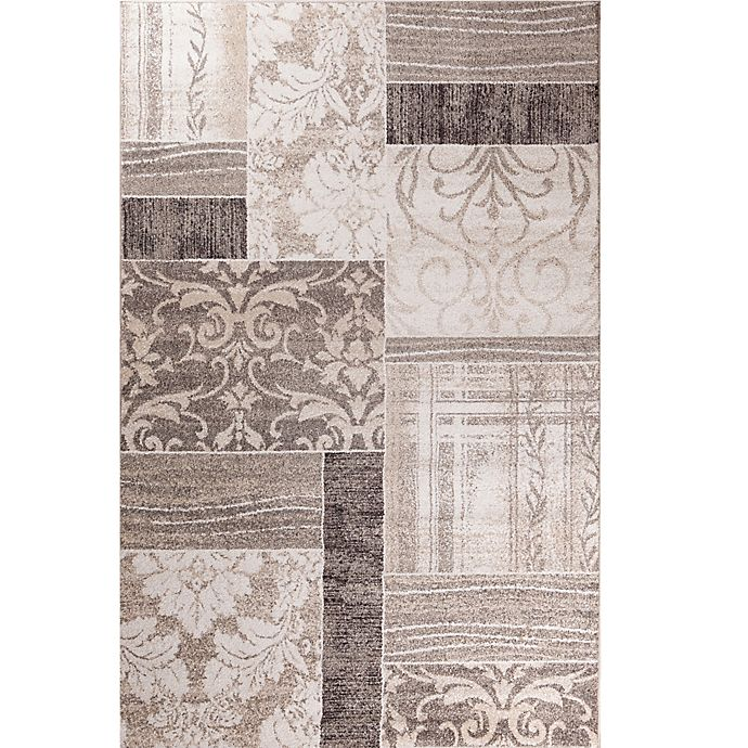 Alternate image 1 for Concord Global Casa Symphony 5-Foot 3-Inch x 7-Foot 3-Inch Area Rug in Ivory