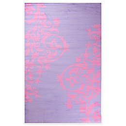 Concord Global Alisa Tattoo Scroll Rug