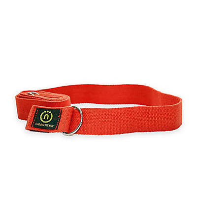 Natural Fitness™ Hemp Yoga Strap in Orange