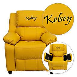 Flash Furniture Personalized Kids Recliner