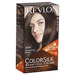 Revlon® ColorSilk Beautiful Color™ Hair Color in 33 Dark Soft Brown