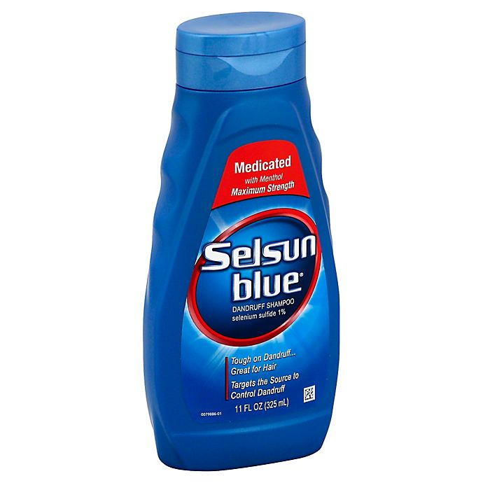 Alternate image 1 for Selsun Blue® 11 fl.oz. Medicated Dandruff Shampoo Maximum Strength