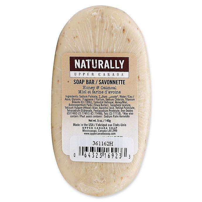 Alternate image 1 for Upper Canada 5 oz. Naturally Bar Soap in Honey Oatmeal