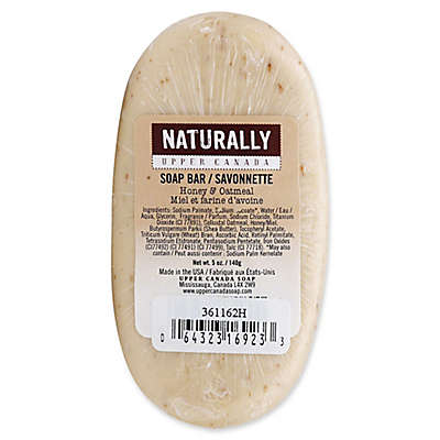 Upper Canada 5 oz. Naturally Bar Soap in Honey Oatmeal