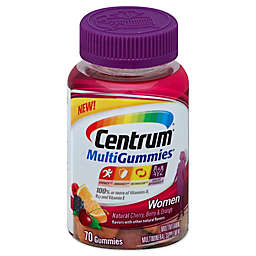 Centrum® MultiGummies® 70-Count Multivitamin for Women in Cherry, Berry & Orange