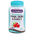 Vitafusion™ Gorgeous Hair, Skin & Nails 100-Count Gummy Multivitamin in Raspberry Flavor