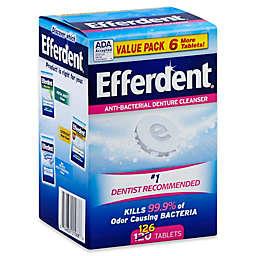 Efferdent® 126-Count Original Anti-Bacterial Denture Cleanser