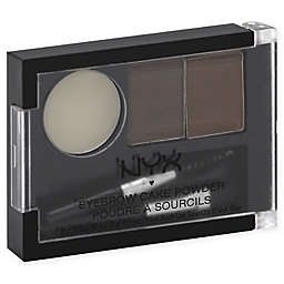 NYX Professional Makeup Eyebrow Cake Powder in Brunette