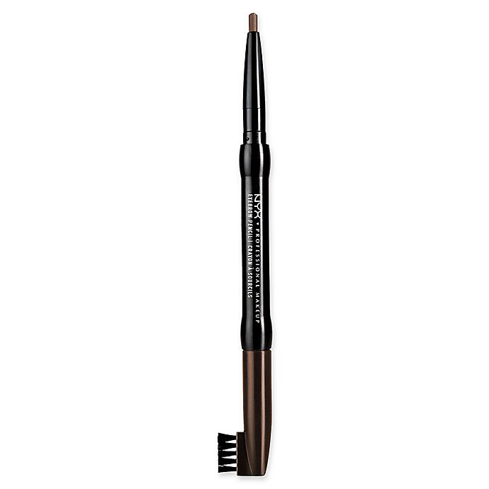 Alternate image 1 for NYX Professional Makeup Auto Eyebrow Pencil in Medium Brown
