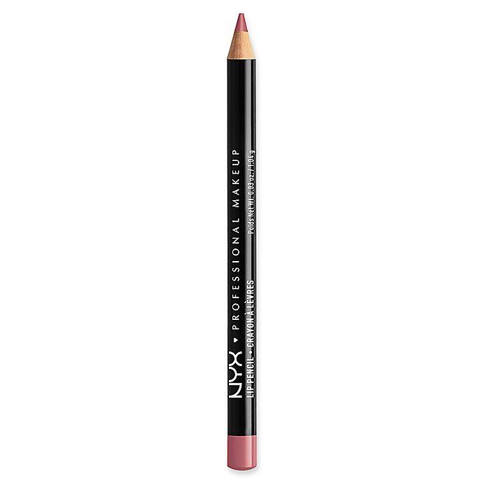 Alternate image 1 for NYX Professional Makeup Slim Lip Liner Pencil in Plum