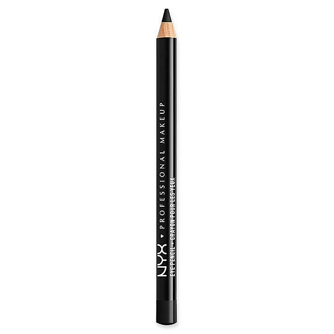 Alternate image 1 for NYX Professional Makeup Slim Eye Pencil in Black