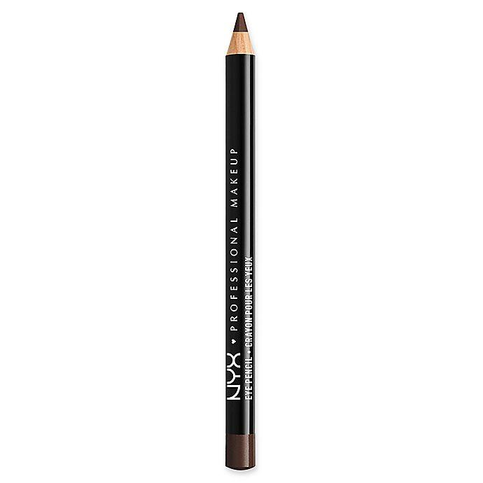 Alternate image 1 for NYX Professional Makeup Slim Eye Pencil in Black Brown