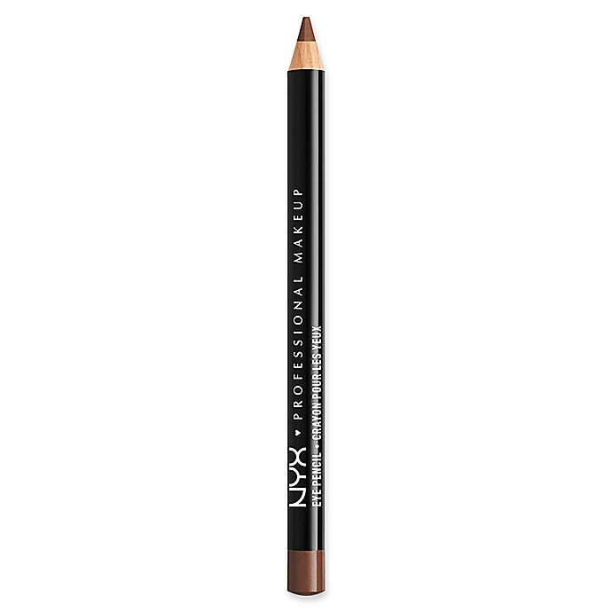 Alternate image 1 for NYX Professional Makeup Slim Eye Pencil in Brown