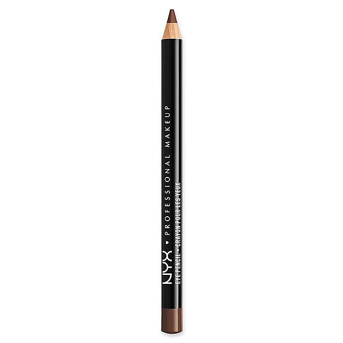 Alternate image 1 for NYX Professional Makeup Slim Eye Pencil in Dark Brown
