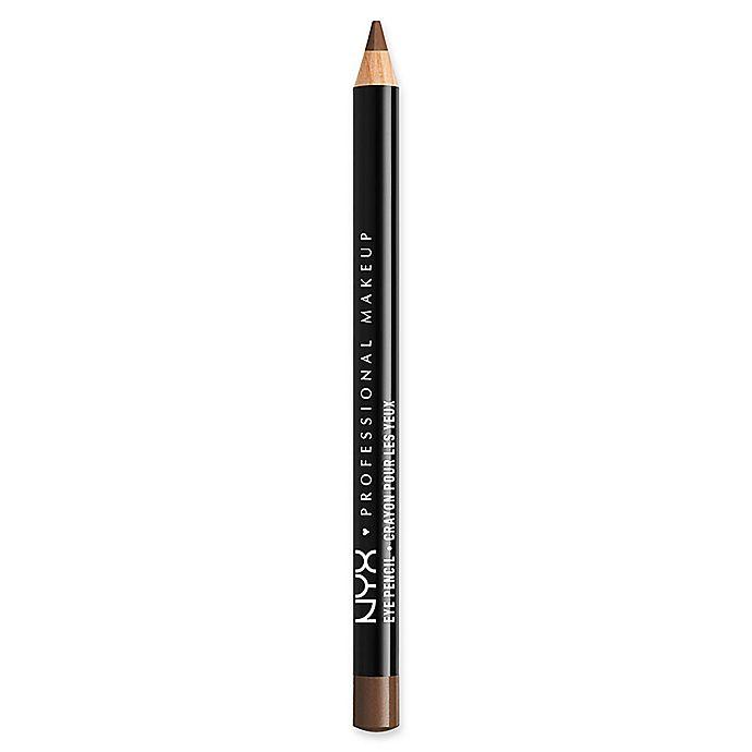 Alternate image 1 for NYX Professional Makeup Slim Eye Pencil in Medium Brown
