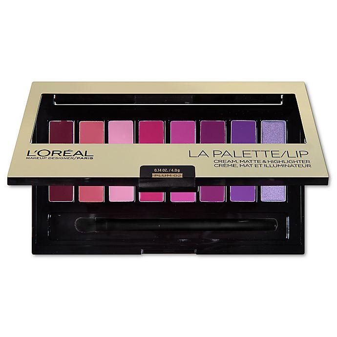 Alternate image 1 for L'Oreal® Colour Riche® La Palette Lip in Plum