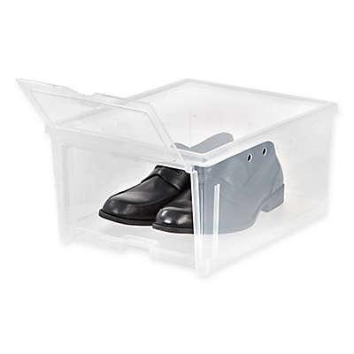IRIS® Clear Men's Shoe Box