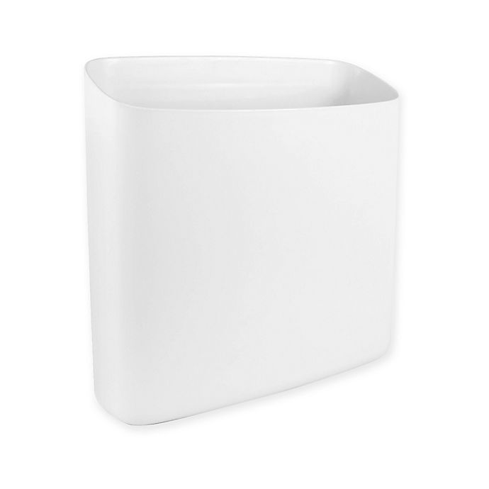 Alternate image 1 for Honey-Can-Do® Perch™ Biggy Large Magnetic Container in White