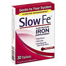 Slow Fe® 30-Count Slow Release Iron Supplement
