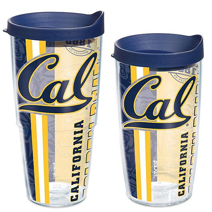 Alternate image 1 for Tervis® University of California Berkeley Golden Bears Pride Wrap with Lid