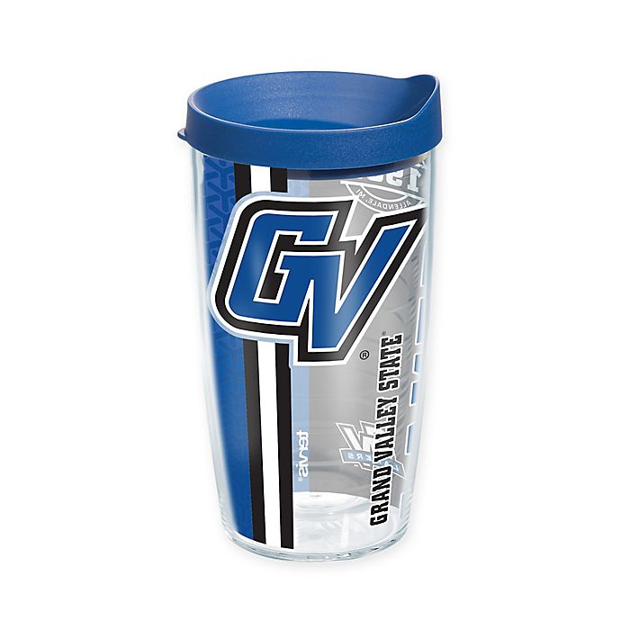 Alternate image 1 for Tervis® Grand Valley State University Lakers 16 oz. Pride Wrap with Lid