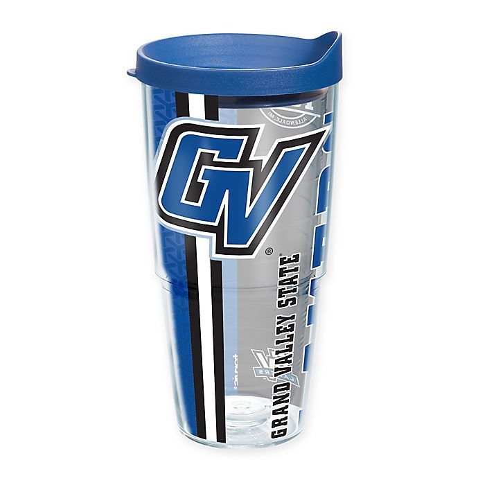 Alternate image 1 for Tervis® Grand Valley State University Lakers 24 oz. Pride Wrap with Lid