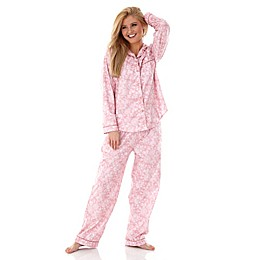 Micro Flannel 2-Piece Pajama Set