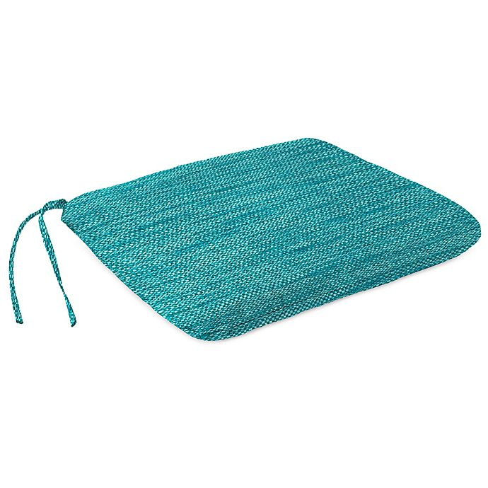 Alternate image 1 for Solid Outdoor Dining Seat Pad Cushion in Remi Lagoon