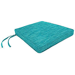 Solid Outdoor Boxed Seat Cushion