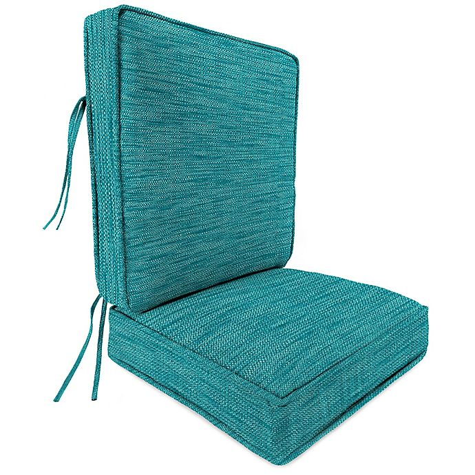 Alternate image 1 for Solid 2-Piece 45-Inch Deep Seat Chair Cushion
