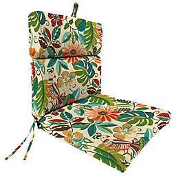 Print Outdoor 44-Inch Dining Chair Cushion in Lensing Jungle